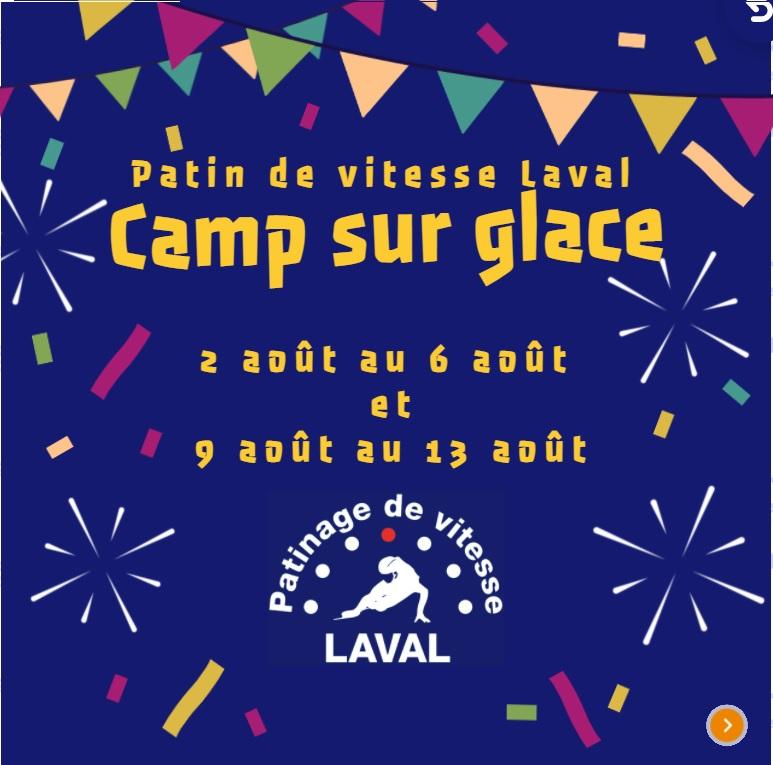 Camp sur glace août 2021